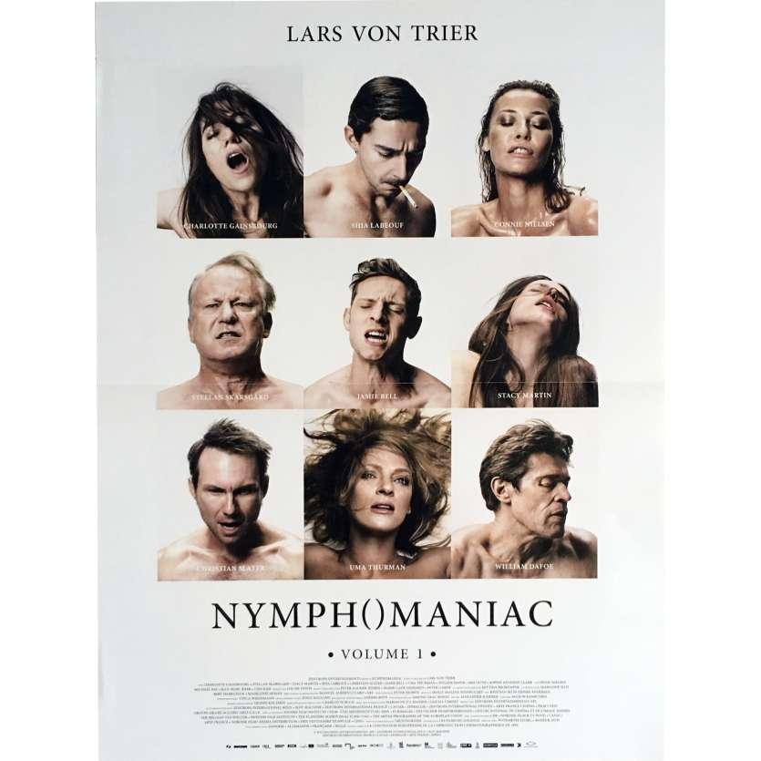 NYMPHOMANIAC Vol. 1 Movie Poster 15x21 in. - 2013 - Lars Von Trier, Charlotte Gainsbourg