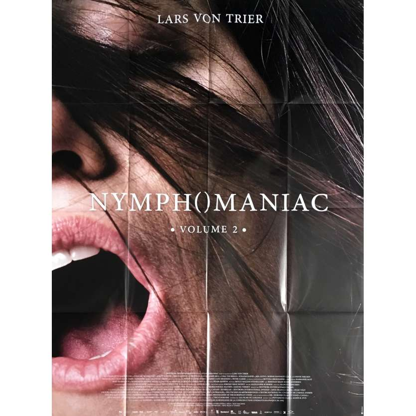 NYMPHOMANIAC Vol. 2 Movie Poster 47x63 in. - 2013 - Lars Von Trier, Charlotte Gainsbourg