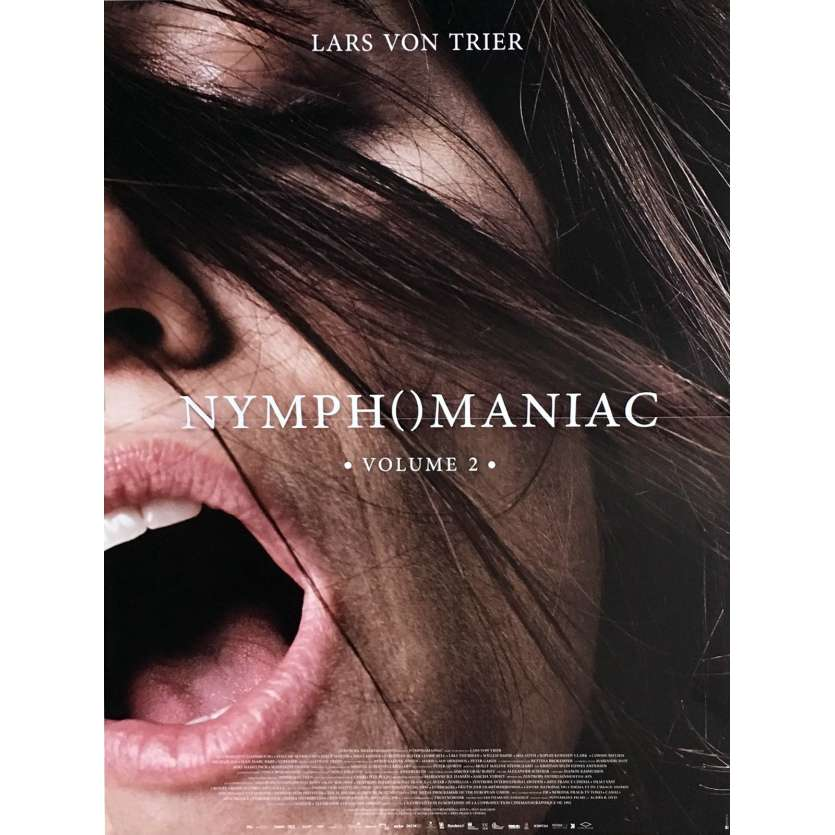 NYMPHOMANIAC Vol. 2 Movie Poster 15x21 in. - 2013 - Lars Von Trier, Charlotte Gainsbourg