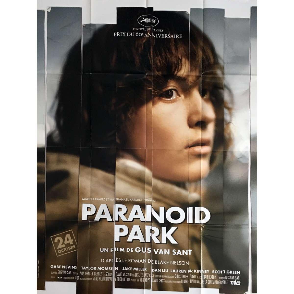 paranoid park movie poster