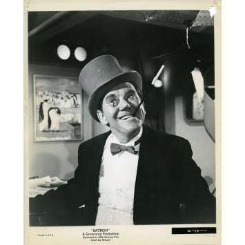 BATMAN 1966 Photo de presse N13 20x25 cm - 1965 - Burgess Meredith, Bob Kane