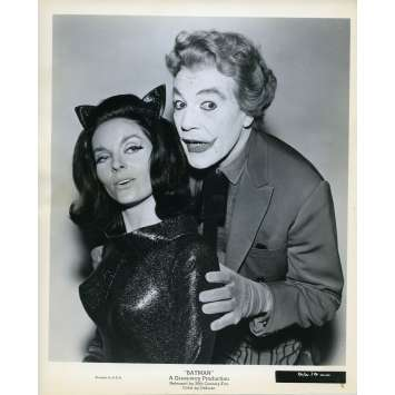 BATMAN 1966 Photo de presse N35 20x25 cm - 1965 - Cesar Romero, Lee Meriwether, Bob Kane