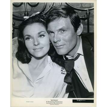 BATMAN 1966 Photo de presse N95 20x25 cm - 1965 - Lee Meriwether, Adam West, Bob Kane
