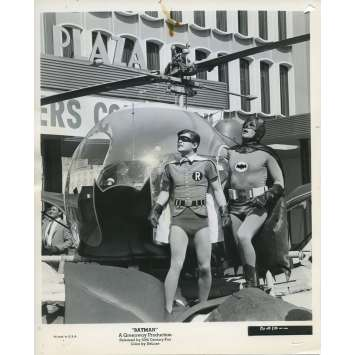 BATMAN 1966 Photo de presse N92 20x25 cm - 1965 - Adam West, Burt Ward, Bob Kane