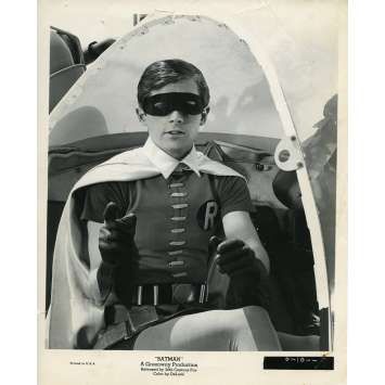 BATMAN 1966 Photo de presse N10 20x25 cm - 1965 - Burt Ward, Bob Kane