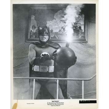 BATMAN 1966 Photo de presse N76 20x25 cm - 1965 - Adam West, Bob Kane