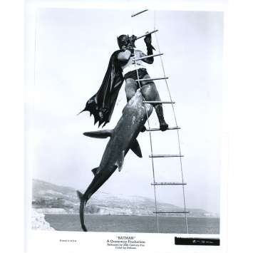 BATMAN 1966 Photo de presse N14 20x25 cm - 1965 - Adam West, Bob Kane