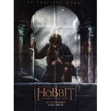 THE HOBBIT 3 prev Affiche de film 120x160 - 2014 - Ian McKellen, Peter Jackson