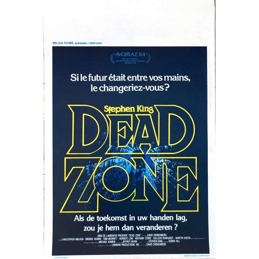 DEAD ZONE Affiche de film 35x55 cm - 1984 - Christopher Walken, David Cronenberg