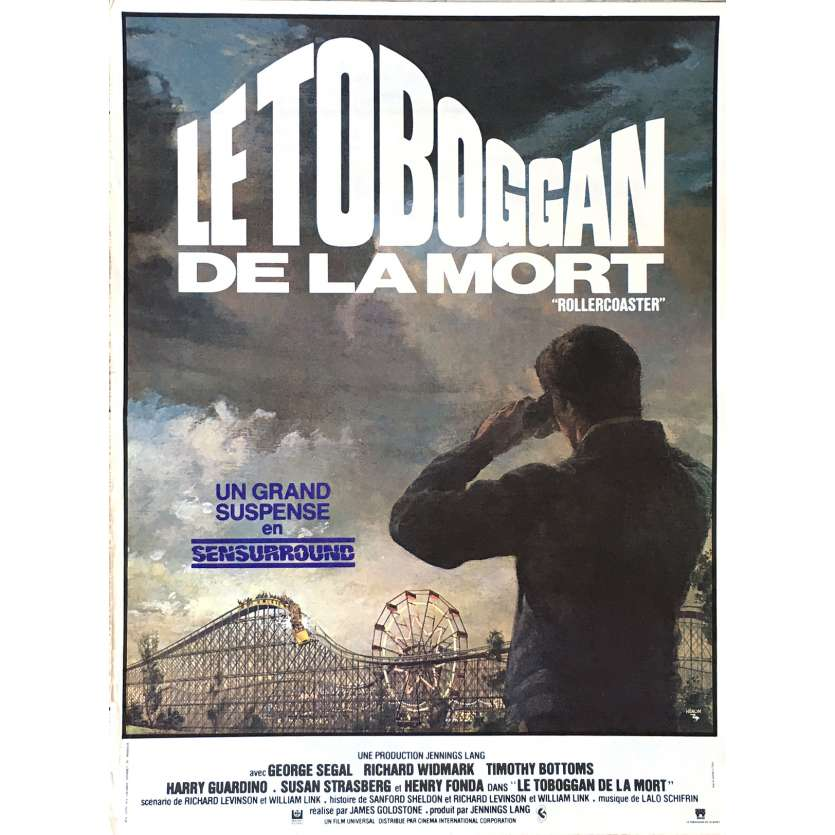 LE TOBOGGAN DE LA MORT Affiche de film 35x55 cm - 1977 - George Segal, James Goldstone