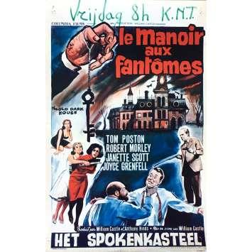 LE MANOIR AUX FANTOMES Affiche de film 35x55 cm - 1963 - Anthony Hinds, William Castle