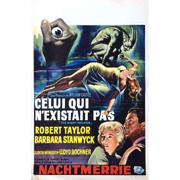 THE NIGHT WALKER Movie Poster 14x21 in. - 1964 - William Castle, Robert Taylor