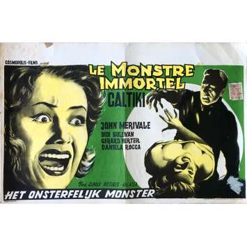 CALTIKI THE IMMORTA LMONSTER Movie Poster 14x21 in. - 1959 - Riccardo Fredda, John Merivale