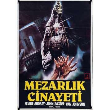 CRIME AU CIMETIERE ETRUSQUE Affiche de film 70x100 cm - 1982 - Elvire Audrey, Sergio Martino
