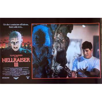 HELLRAISER III HELL ON EARTH Photobusta Poster N05 15x21 in. - 1992 - Anthony Hckox, Doug Bradley