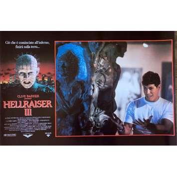 HELLRAISER III Photobusta N05 40x60 cm - 1992 - Doug Bradley, Anthony Hckox