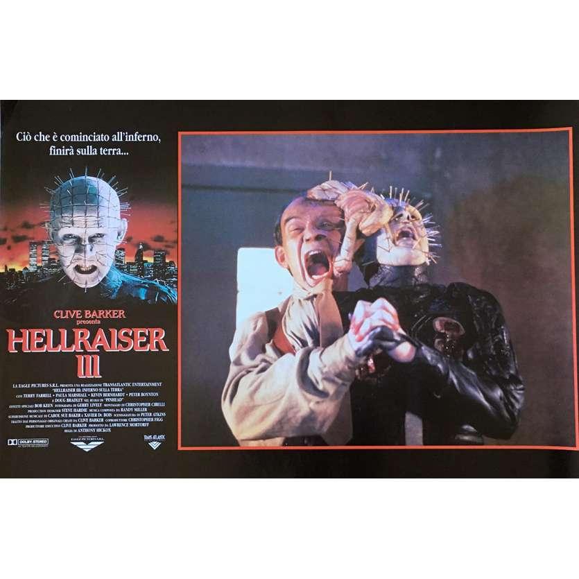 HELLRAISER III Photobusta N04 40x60 cm - 1992 - Doug Bradley, Anthony Hckox