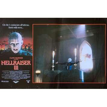 HELLRAISER III Photobusta N02 40x60 cm - 1992 - Doug Bradley, Anthony Hckox