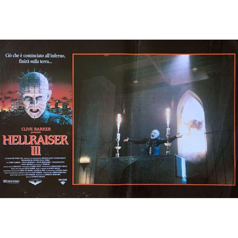 HELLRAISER III HELL ON EARTH Photobusta Poster N02 15x21 in. - 1992 - Anthony Hckox, Doug Bradley