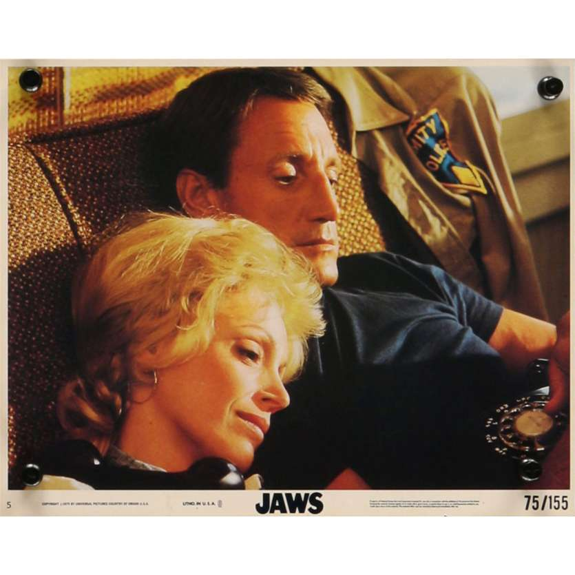 DENTS DE LA MER Photo exploitation N10 20x25 US '75 Spielberg, Jaws Lobby Card