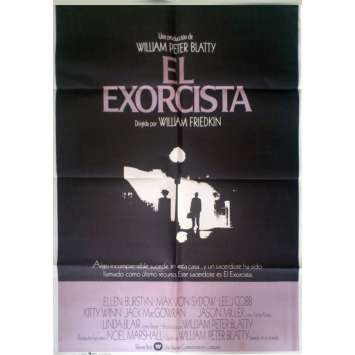 EXORCIST Spanish Movie Poster '73 William Friedkin, Linda Blair