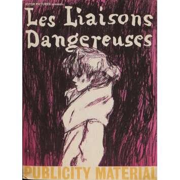 DANGEROUS LOVE AFFAIRS Pressbook 9x12 in. - 1961 - Roger Vadim, Gérard Philippe, Jeanne Moreau