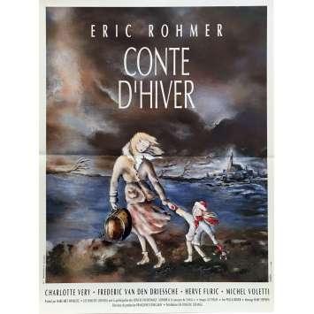 CONTE D'AUTOMNE Affiche de film 40x60 cm - 1998 - Eric Rohmer, Marie Rivière