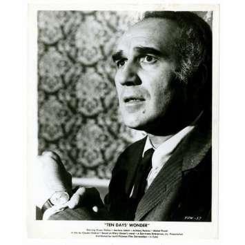 MICHEL PICCOLI La décade prodigieuse Chabrol Photo de presse USA 1972