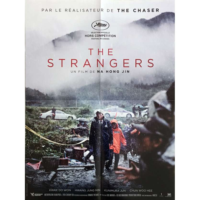 THE STRANGERS Affiche de film 40x60 cm - 2016 - Hong-jin Na, The Chaser