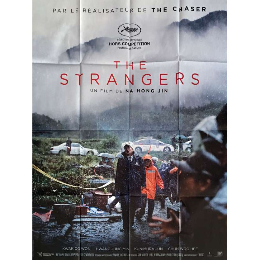 THE STRANGERS Affiche de film 120x160 cm - 2016 - Hong-jin Na, The Chaser