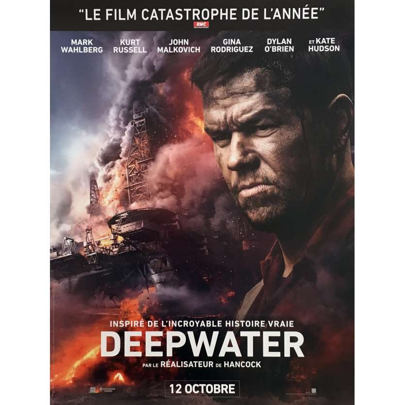 DEEPWATER HORIZON Movie Poster 15x21 in. - 2016 - Peter Berg, Mark Whalberg