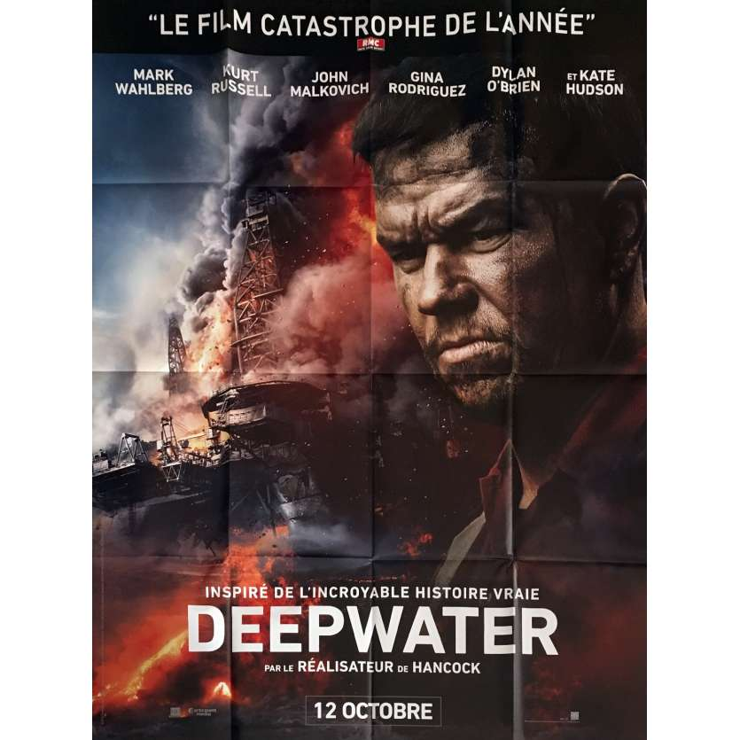 DEEPWATER HORIZON Movie Poster 47x63 in. - 2016 - Peter Berg, Mark Whalberg