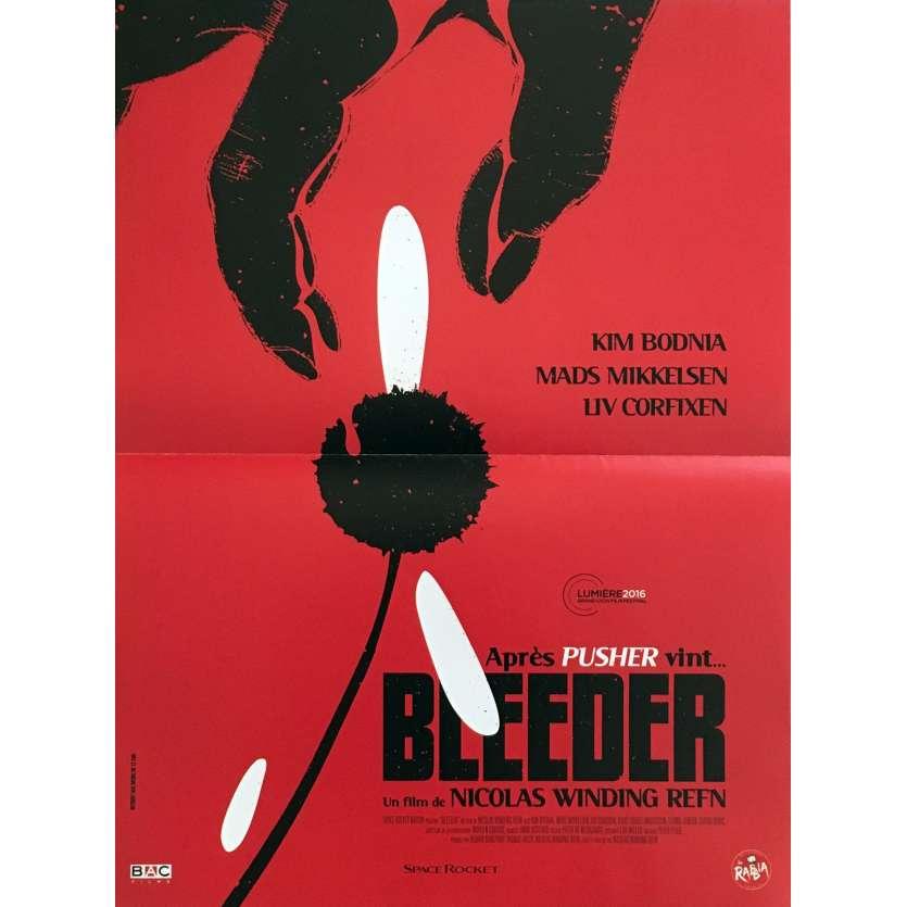 BLEEDER Affiche de film 40x60 cm - 2016 - Nicolas Winding Refn, Pusher