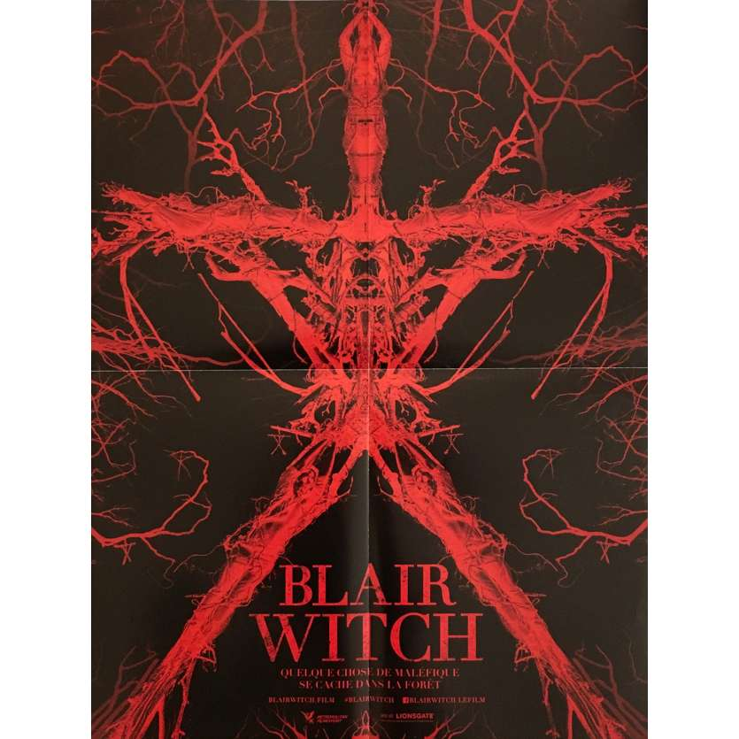 BLAIR WITCH Affiche de film 40x60 cm - 2016 - Adam Wingard, James Allen McCune