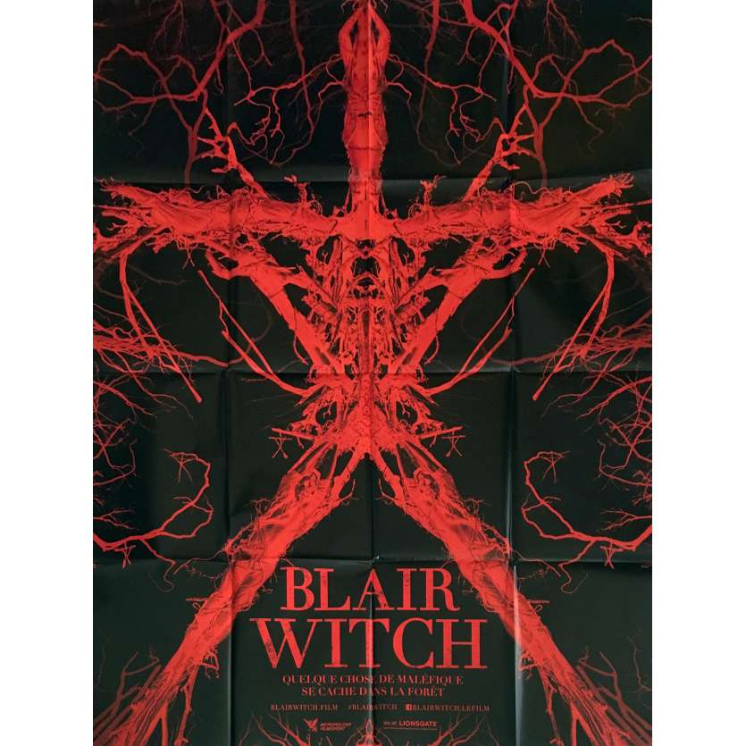 BLAIR WITCH Movie Poster 47x63 in. - 2016 - Adam Wingard, James Allen McCune