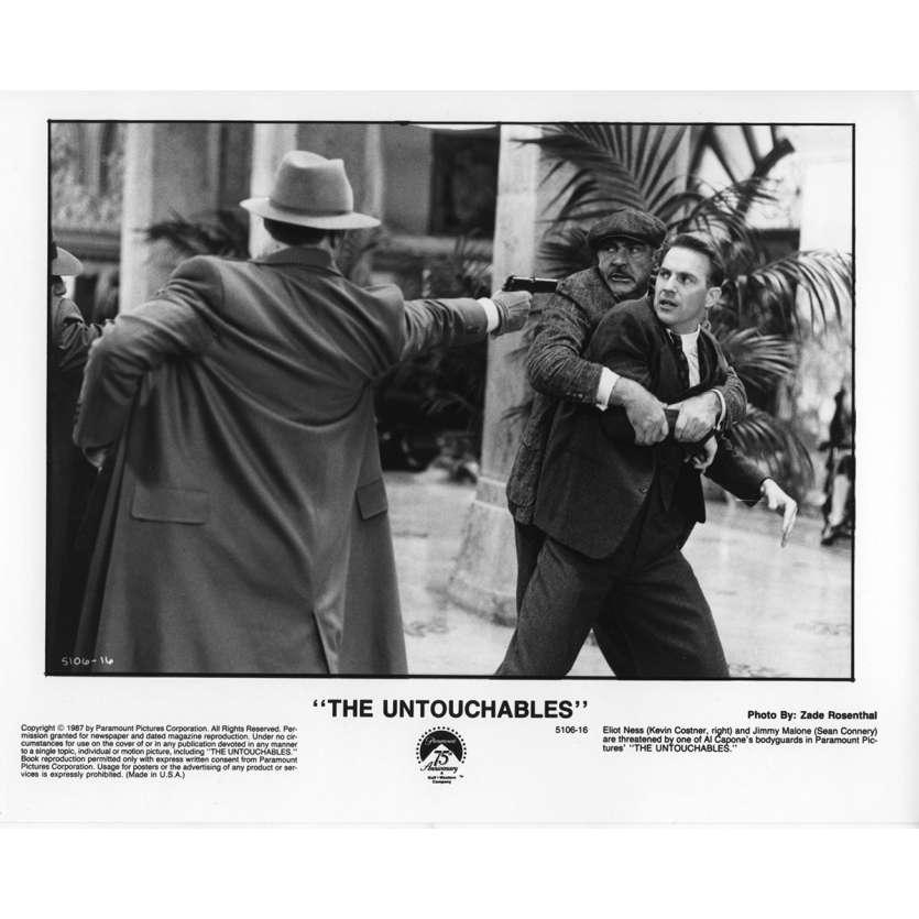 LES INCORRUPTIBLES Photo de Presse N1 US 1987 Kevin Costner, De Palma