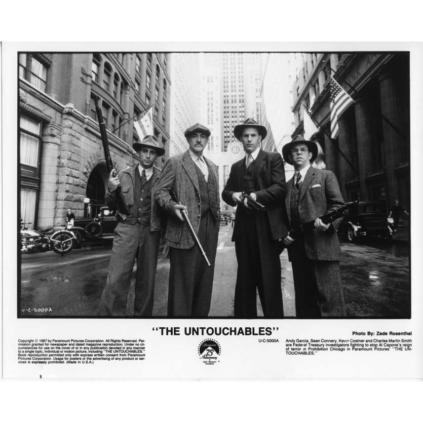 LES INCORRUPTIBLES Photo de Presse N4 US 1987 Kevin Costner, De Palma