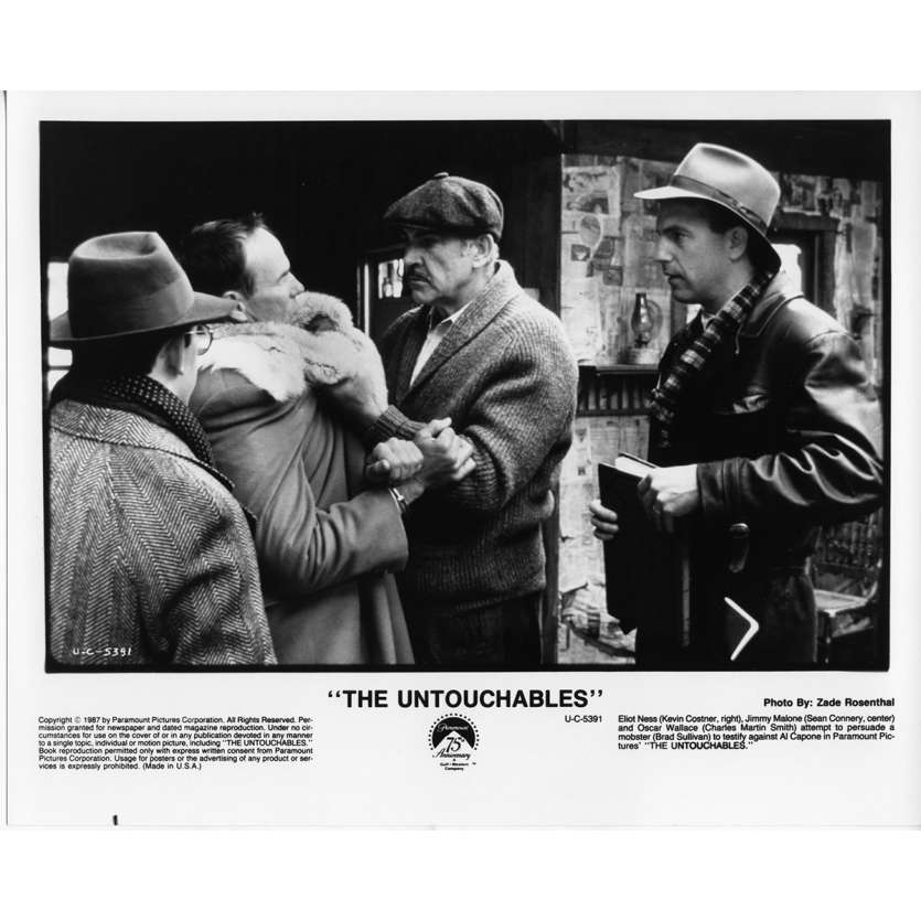 THE UNTOUCHABLES Movie Still N7 8x10 in. - 1987 - Brian de Palma, Kevin Costner