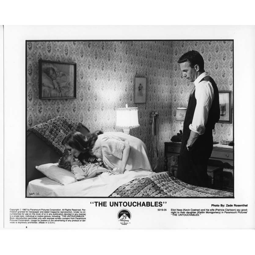 THE UNTOUCHABLES Movie Still N8 8x10 in. - 1987 - Brian de Palma, Kevin Costner