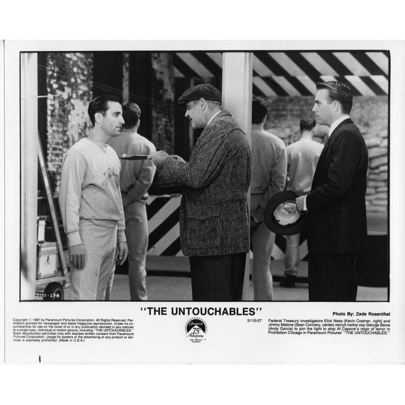 LES INCORRUPTIBLES Photo de presse N9 20x25 cm - 1987 - Kevin Costner, Brian de Palma