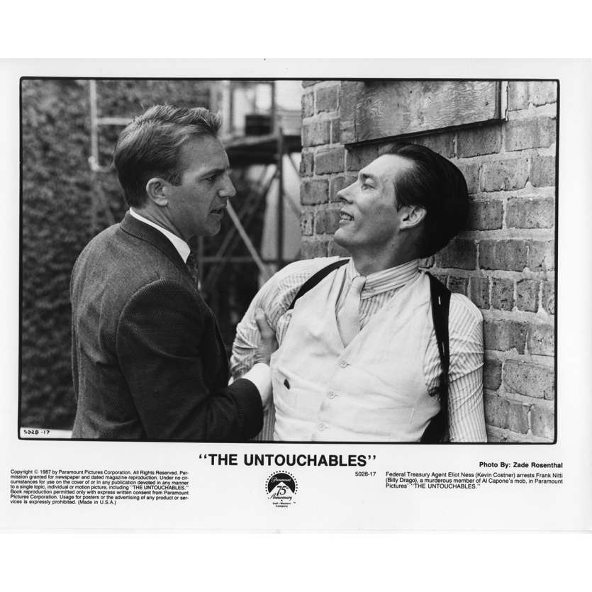 THE UNTOUCHABLES Movie Still N11 8x10 in. - 1987 - Brian de Palma, Kevin Costner