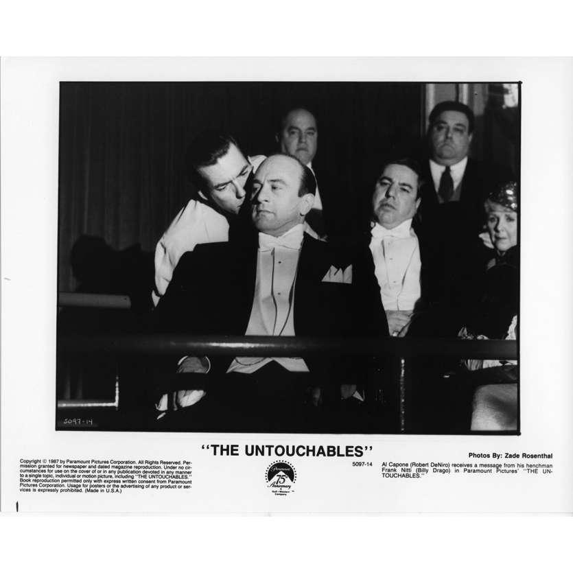LES INCORRUPTIBLES Photo de presse N13 20x25 cm - 1987 - Kevin Costner, Brian de Palma