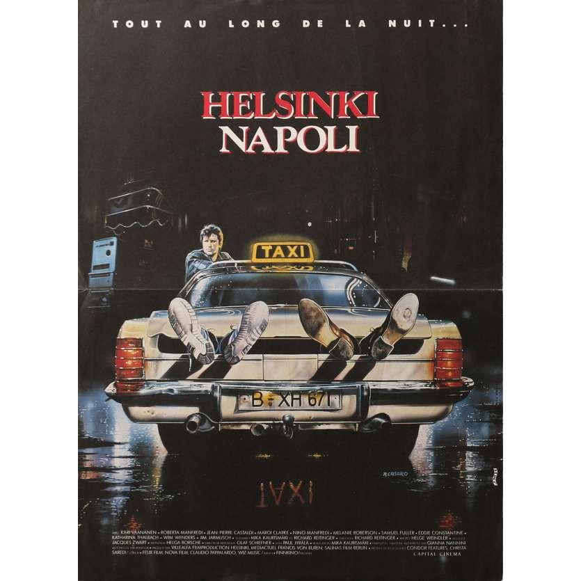 HELSINKI NAPOLI Affiche de film 40x60 cm - 1987 - Kari Vaananen, Mika Kaurismaki