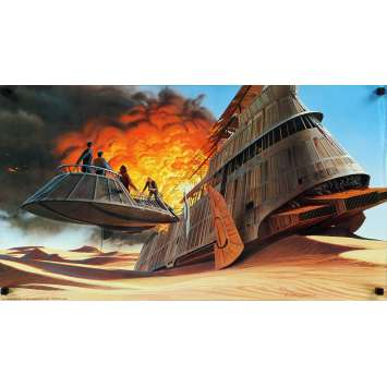 STAR WARS - RETURN OF THE JEDI US Special Poster 30x17 - 1983 - Richard Marquand, Harrison Ford