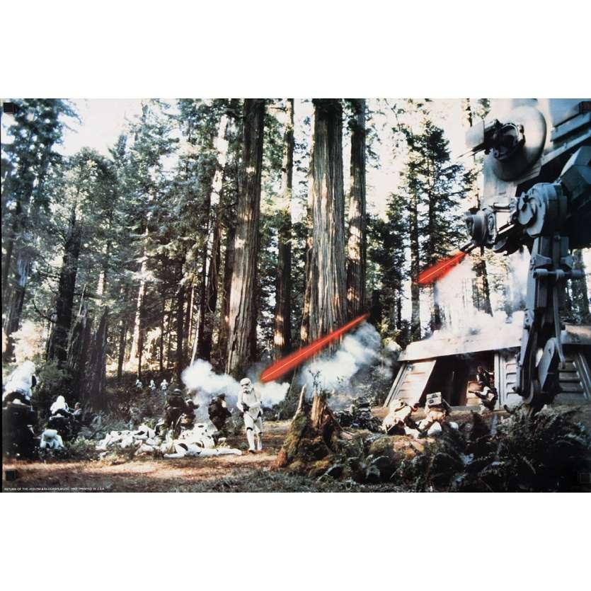 STAR WARS - LE RETOUR DU JEDI Photo Géante N1 76x51 - 1983 - Harrison Ford, Richard Marquand