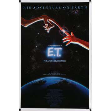 E.T THE EXTRATERRESTRIAL US Movie Poster 69x104 - 1982 - Steven Spielberg, Dee Wallace