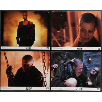 ALIEN 3 Lobby Cards x8 11x14 in. - 1992 - David Fincher, Sigourney Weaver
