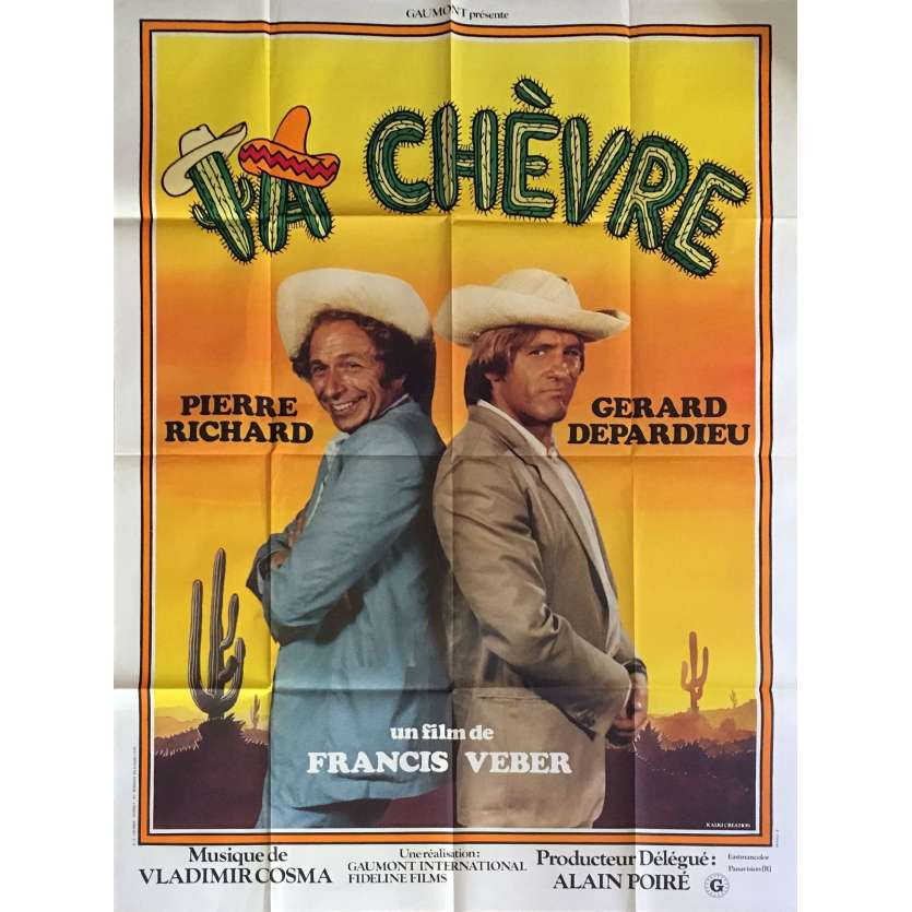 KNOCK ON WOOD French Movie Poster 47x63- 1981 - Francis Veber, Pierre Richard