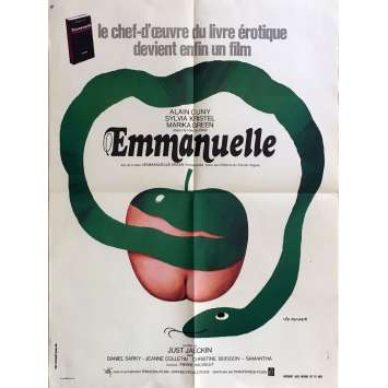 EMMANUELLE Movie Poster 23x32 in. - 1974 - Just Jaeckin, Sylvia Kristel