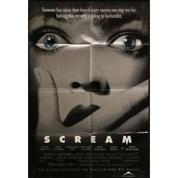 SCREAM Movie Poster 29x41 in. - 1996 - Wes Craven, Neve Campbell
